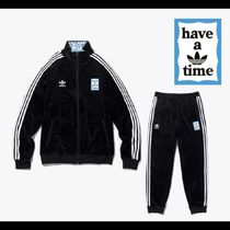 adidas×have a good time限定コラボ★Velour Track Set Black