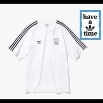 adidas×have a good time限定コラボ★Tシャツ WHITE