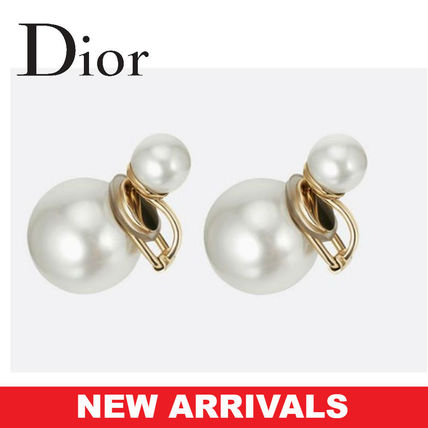 DIOR ピアス TRIBALES EARRINGS WITH A GOLD-TONE FINISH