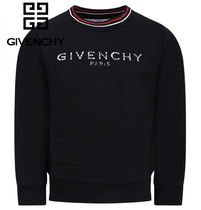 19ss▼GIVENCHY▼ロゴスウェットBlack/6~12y大人OK♪【関税込】