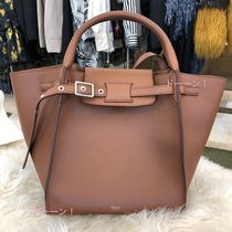 奇跡の入荷 旧ロゴ【CELINE】Big Bag Long Strap (Tan/ Small)