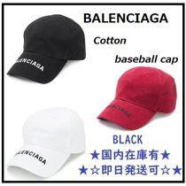 BALENCIAGA ☆バレンシアガ  cotton baseball cap★