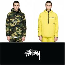 【STUSSY】INSULATED PULLOVER JACKET