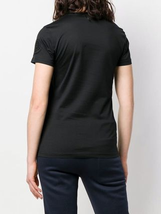MONCLER Tシャツ・カットソー 【関税込】新作◆MONCLER モンクレール◆袖ロゴ Tシャツ 2色(6)