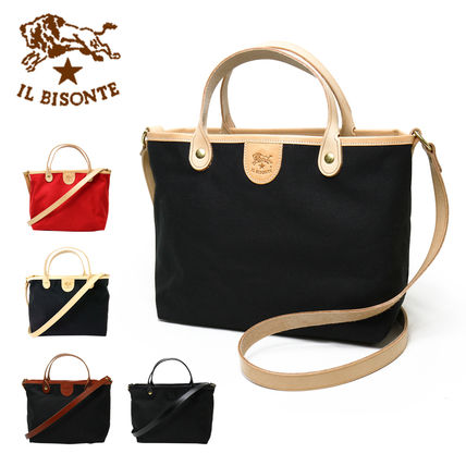 IL BISONTE トートバッグ IL BISONTE【イルビゾンテ】 キャンバスバッグ L1173