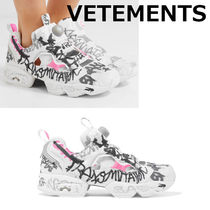 【関税 送料込み】VETEMENTS×Reebok◆ InstapumpFuryスニーカー