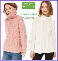 【kate spade】最終SALE★chunky cable sweater ★2色