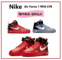 大人もOK★NIKE★AIR FORCE 1 MID LV8(2カラー)