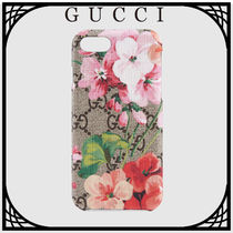 GUCCI 〔GG Blooms〕iPhone 8 ケース 直営店買付 送料込