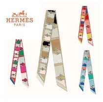 ★Hermes Twilly Camails スカーフ★