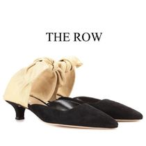 【19SS】THE ROW★Coco suede mules