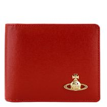 VivienneWestwood SAFFIANO CREDIT CARDWALLET i18aw51040016red