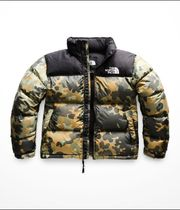 FW18 THE NORTH FACE WOMEN'S DOWN NUPTSE CAMO JACKET カモ