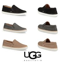 【大人気】UGG Soleda Leather Slip-On Sneaker
