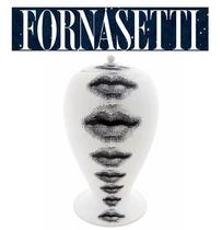 *FORNASETTI*Bitossi リッププリント ポット 国内発送