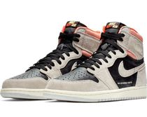 国内配送 NIKE AIR JORDAN 1 RETRO HIGH OG NEUTRAL GREY