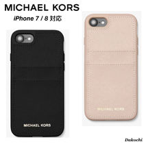 【MICHAEL KORS】iPhone 7/8 ケース Saffiano Leather Case