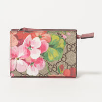 GUCCI     GG BLOOMS   フラワー柄 コインケース BEIGE