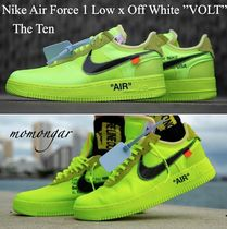 "[Nike x OFF WHITE] Air Force 1 Low ""Volt"" The Ten"