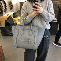 "旧ロゴ・限定1点【CELINE】MINI ""LUGGAGE"" HANDBAG (Kohl)"