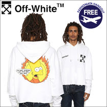 Off-White × The Simpsons シンプソンズ パーカー