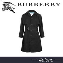 BURBERRY★GIRLS★BLACKトレンチコート10Y
