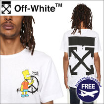 Off-White × The Simpsons コラボ Tシャツ