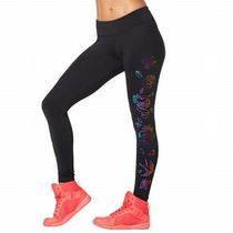 ☆ZUMBA・ズンバ☆Celebrate Love Metallic Ankle Leggings