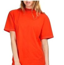 [Acne] Gojina Dyed rust red ロゴ入ボーイフィットTシャツ