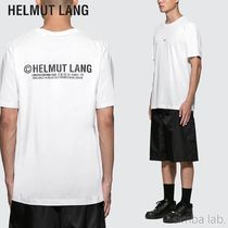 HELMUT LANG(ヘルムート ラング) Tシャツ・カットソー HELMUT LANG ヘルムートラング PARIS TAXIロゴ Tシャツ