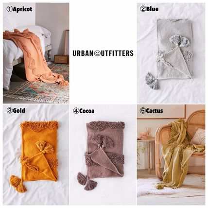 Urban Outfitters ブランケット 【UrbanOutfitters】☆日本未入荷☆ Rosie Tufted Throw Blanket