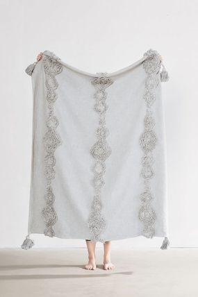 Urban Outfitters ブランケット 【UrbanOutfitters】☆日本未入荷☆ Rosie Tufted Throw Blanket(6)