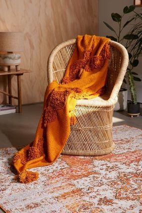 Urban Outfitters ブランケット 【UrbanOutfitters】☆日本未入荷☆ Rosie Tufted Throw Blanket(8)