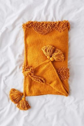 Urban Outfitters ブランケット 【UrbanOutfitters】☆日本未入荷☆ Rosie Tufted Throw Blanket(10)