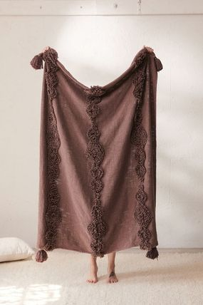 Urban Outfitters ブランケット 【UrbanOutfitters】☆日本未入荷☆ Rosie Tufted Throw Blanket(11)