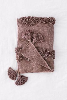 Urban Outfitters ブランケット 【UrbanOutfitters】☆日本未入荷☆ Rosie Tufted Throw Blanket(13)