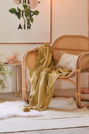 Urban Outfitters ブランケット 【UrbanOutfitters】☆日本未入荷☆ Rosie Tufted Throw Blanket(15)