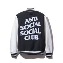最短3日 ANTI SOCIAL SOCIAL CLUB スタジャン Dropout Letterman