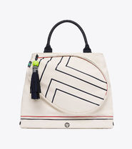 Tory Burch☆Canvas Tennis Tote☆トリースポーツ テニスバッグ
