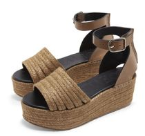 【SS19】Wedge Cord Sandal Taupe