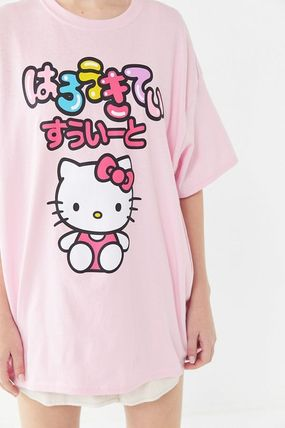 519971461d0 Urban Outfitters Tシャツ・カットソー Hello kitty Oversized T-shirts Dress ...