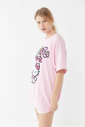 f9d421ff9de ... Urban Outfitters Tシャツ・カットソー Hello kitty Oversized T-shirts Dress (2) ...
