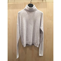 COS 2019新作 ROLL-NECK CASHMERE JUMPER / LIGHT GREY