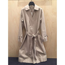 COS 2019新作 ORGANIC-COTTON TRENCH COAT
