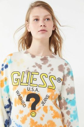 UO限定 GUESS x Chinatown Market x Smiley Long Sleeve Tee