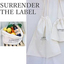 SURRENDER THE LABEL(サレンダーザレーベル) かごバッグ 国内配送!【Surrende the Label】Produce Bag - Large送料無料!