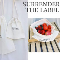 SURRENDER THE LABEL(サレンダーザレーベル) かごバッグ 国内配送!【Surrende the Label】Produce Bag Small 送料無料!