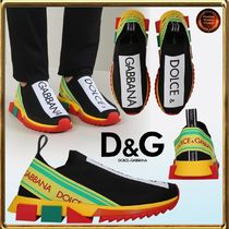 Dolce & Gabbana★stretchニットソレントslip-on sneakers関送込