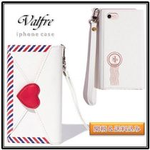 Valfre☆HATE MAIL iPhone WALLET CASE 送料関税込 白 国内発送