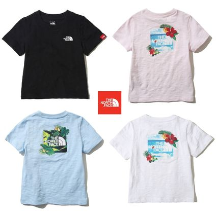 19SS/THE NORTH FACE★大人もOK!トロピカルロゴTシャツ 100-160